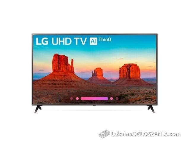 Lg 50uk6300 Suhd 4K HDR Activ All ThinQ sztuczna inteligencja wifi led