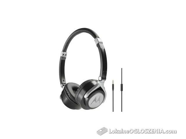 Słuchawki Motorola Pulse 2 / Czarne / Nowe