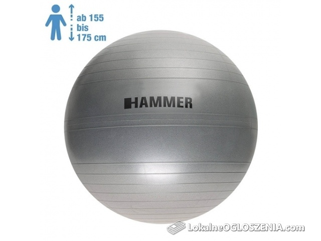 HAMMER Gymnastic Ball 65 cm Antiburst - Piłka fitness