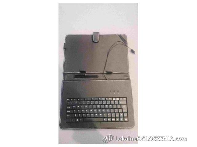 Etui z klawiaturą Tablet 10'' microUSB + rysik