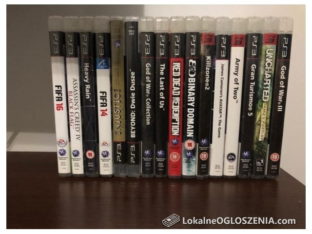 PS3 Playstation 3 super slim 500gb +20 gier + 2 pady