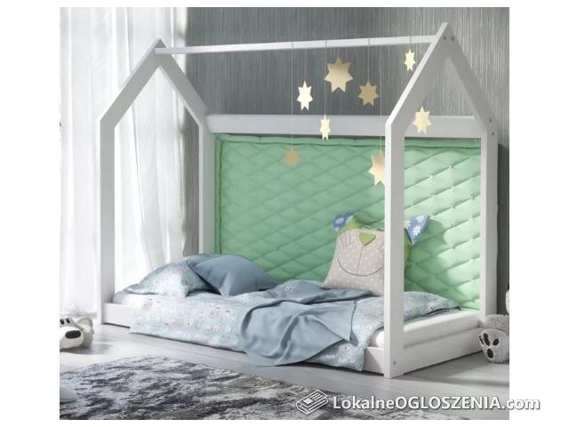 Łóżko Domek 80x160 Kolory !!! Producent Wodny Lakier