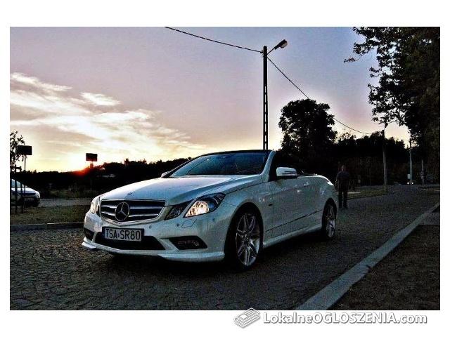 Auto Na Wesele Cabrio Mercedes 5 Aut w ofercie