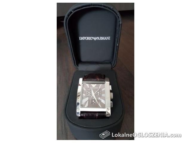 Oryginał Zegarek Emporio Armani-Mało Używany
