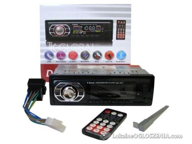 Radio Samochodowe BLUETOOTH MP3 USB Zestaw Głośnomówiący