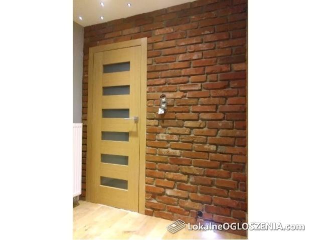 Płytki z cegły z poczatku XX wieku ,cegła na ściane .Cięta cegła .