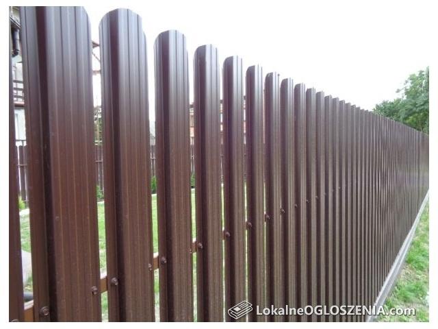 Sztachety sztachetki metalowe producent ogrodzenia