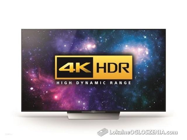Telewizor TV Sony Bravia KD-65XD8505 65' Jak nowy