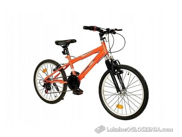 Rower Rowerek Dziecięcy GÓRSKI 6 BIEGÓW BMX 20''