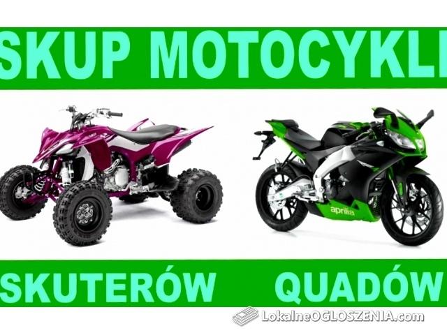 Skup motocykli skuterów quadów stare i nowe każdy stan i marka zadzwoñ !!