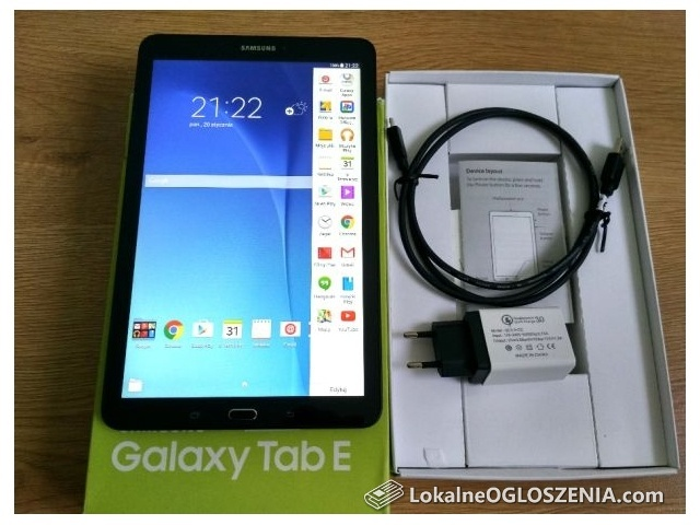 Tablet igła SAMSUNG Galaxy Tab E 9.6 SM-T560 ładowarka Qualcomm QC 3.0