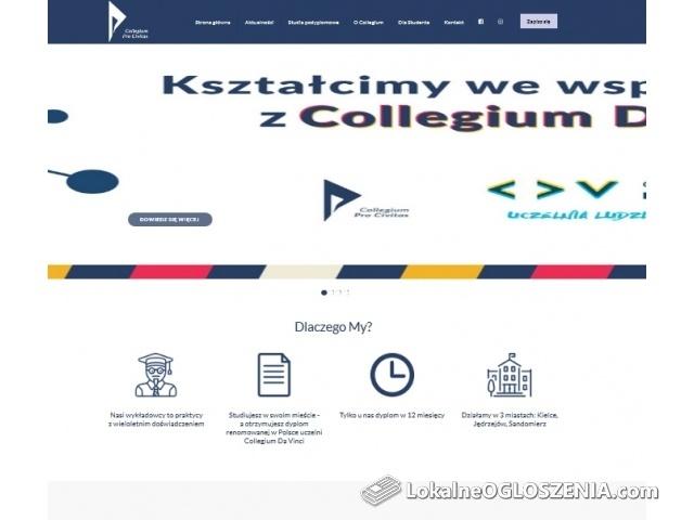 Studia podyplomowe dla nauczycieli i biznesu – Collegium Pro Civitas w Kielcach