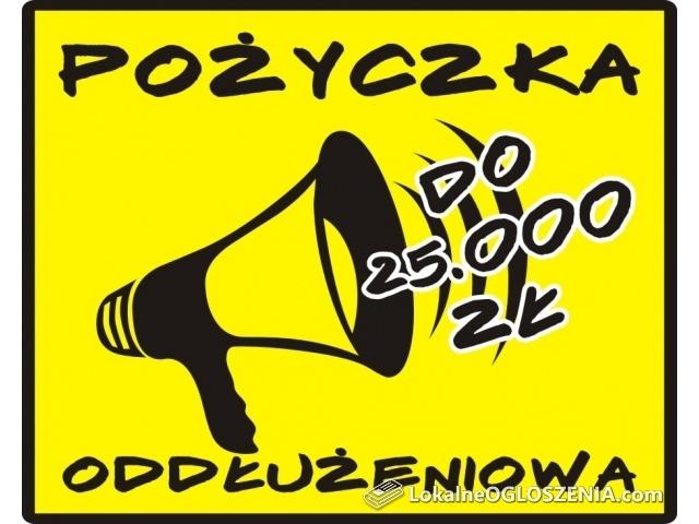 POŻYCZKA dla dwojga do 25.000 zł!