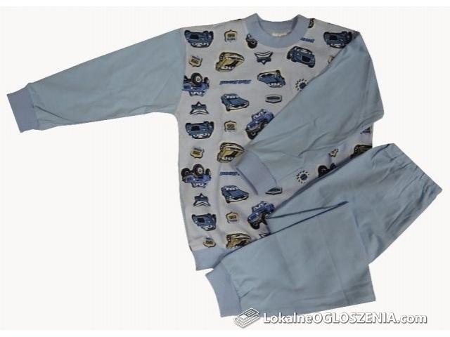 Bawełniana piżama dziecięca rozmiar 104