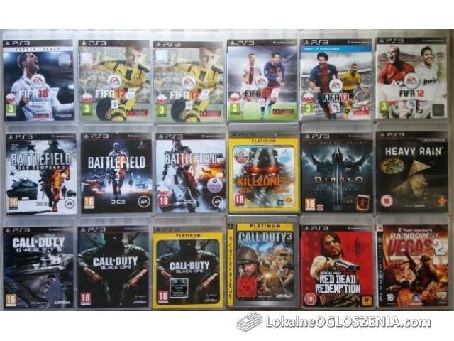 Gry PlayStation 3 ps3 DOSTĘPNE w OPISIE