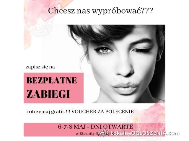 Bezpłatne zabiegi kosmetyczne Sopot Gdynia Gdańsk + Vouchery - Dni Otwarte w Eternity Spa Sopot