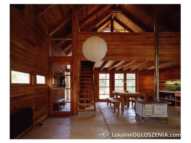 Domy drewniane w kostrukcji szkieletowej lub z bala, altany
