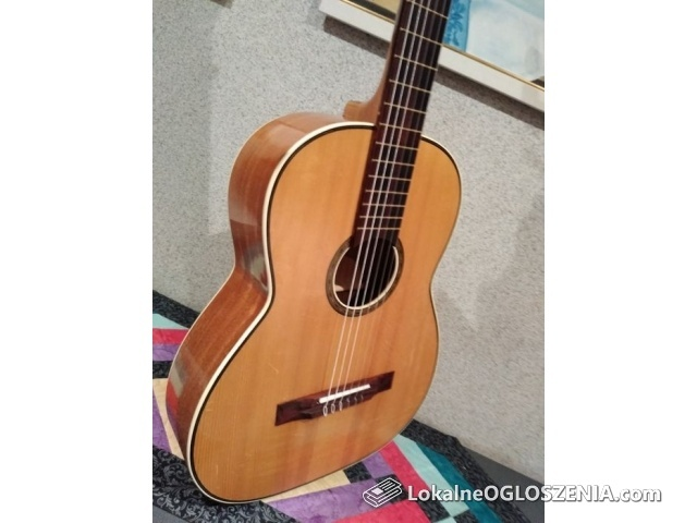 Piękna gitara klasyczna vintage Cremona Luby u Chebu lata 80-te !!