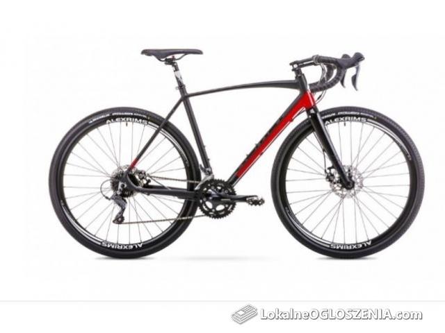 Romet Aspre Czarno - czerwony model 2019 L-54