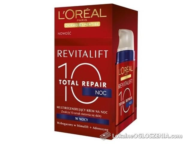 L'Oreal Revitalift Total Repair 10 multiregenerujący krem na noc