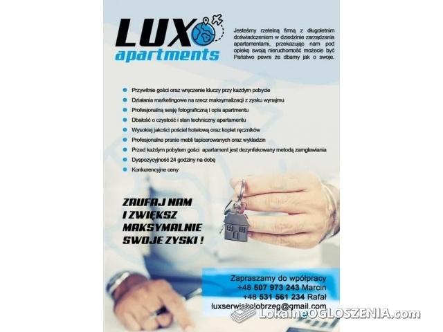 Lux Apartaments- Kompleksowe zarządzanie