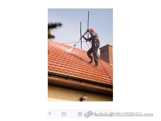 Mycie dachu,elewacji,kostki brukowej,itp.