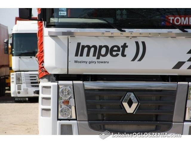 Transport krajowy ciężarowy drogowy towarów