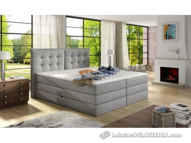 Promocja łóżko kontynentalne box springs Fendy 180