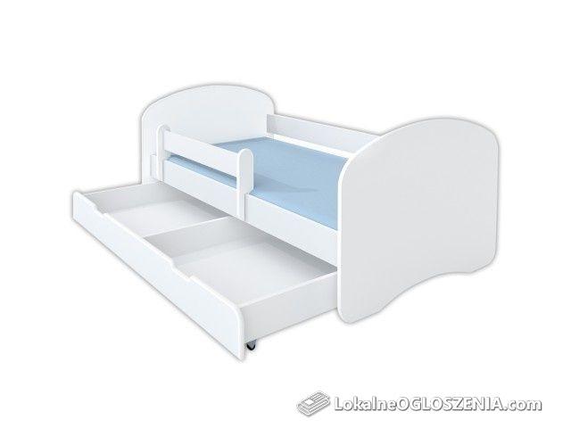 Łóżko dziecięce, barierka, szuflada, 180x90,