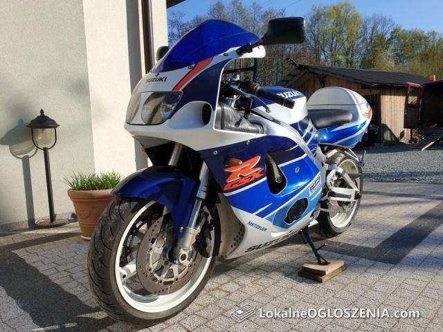 Suzuki gsxr-750 srad z Niemiec