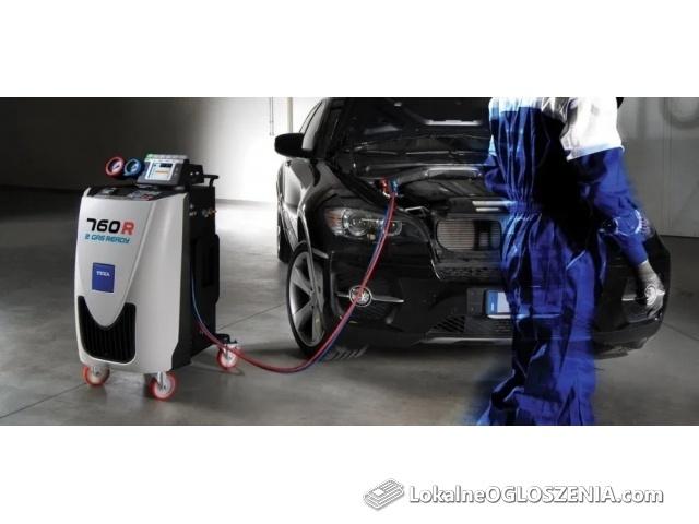 Nabijanie klimatyzacji samochodowej poznań
