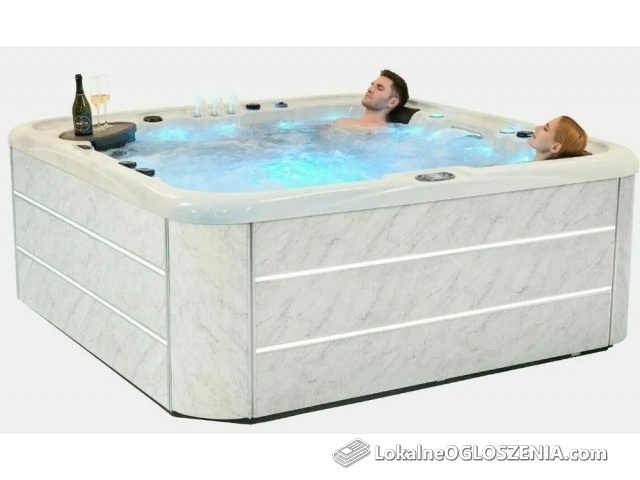 NEW RELAX!!! 6 os. Wanna SPA Polar 804, GECKO, BLUETOOTH