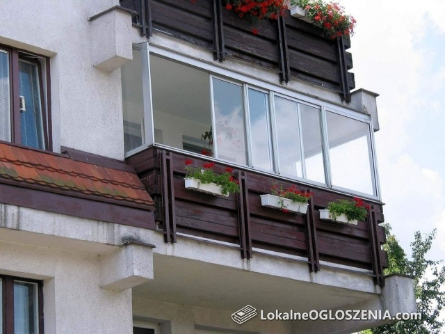Przesuwne Zabudowy Balkonów i Tarasów