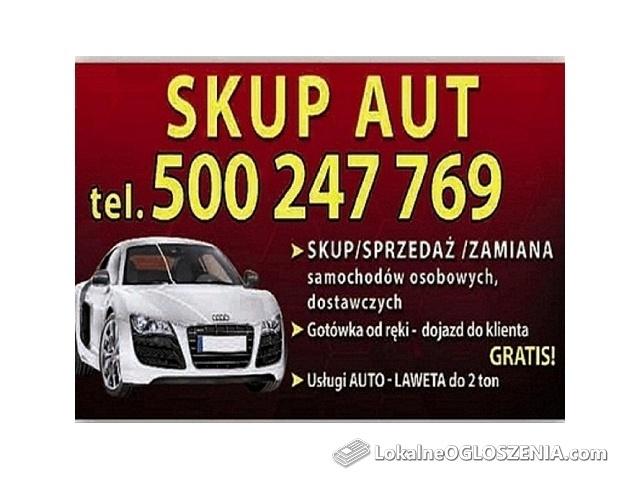 Skup aut po 2000r oraz Każdego Sprintera lub Kaczka 500247769