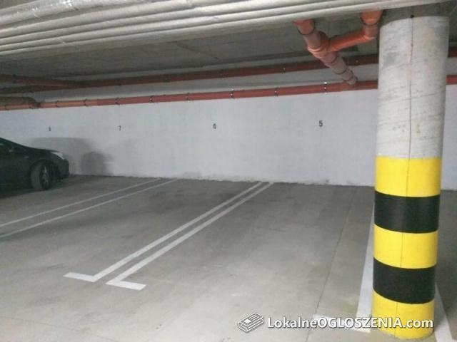 Miejsce postojowe w garażu podziemnym na Starym Mieście w Głogowie - wynajmę