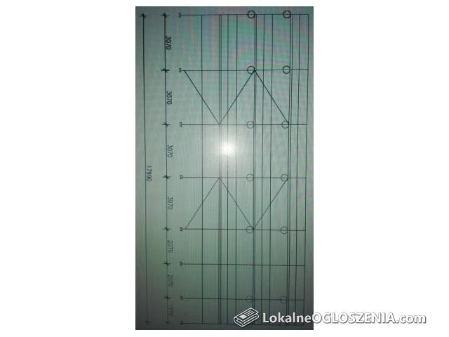 Rusztowanie elewacyjne Altrad ok. 150 m2 nowe -nieużywane