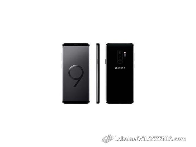 Samsung galaxy s9 plus 256 gb czarny nowy bez simlocka!