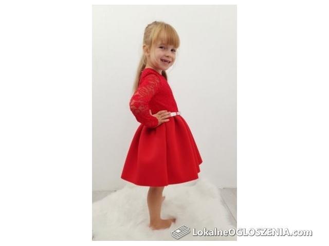 Sukienka wizytowa,elegancka EWA.rozmiar 86,92,98,104,146,152