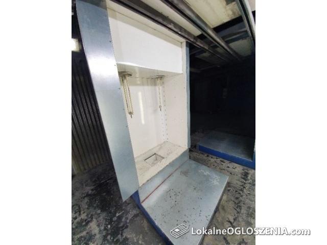 LAKIERNIA PROSZKOWA - piec 9m, kabina x2, system transportu