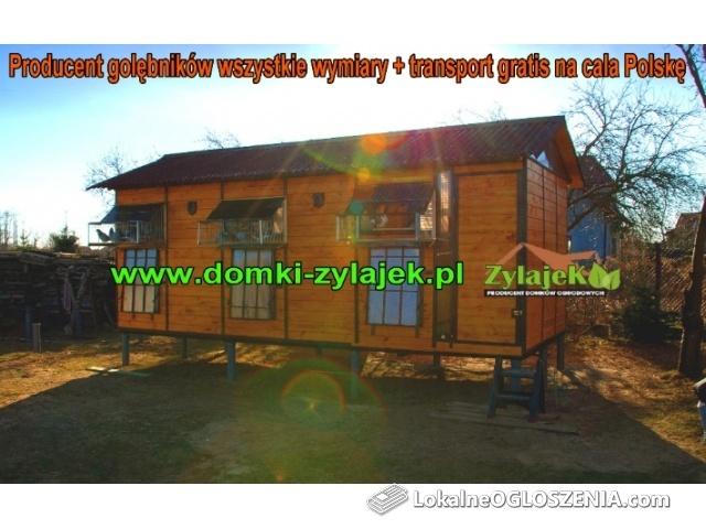 Gołębnik 200/600 wysyłka gratis na całą Polskę gołębniki cele siodełka
