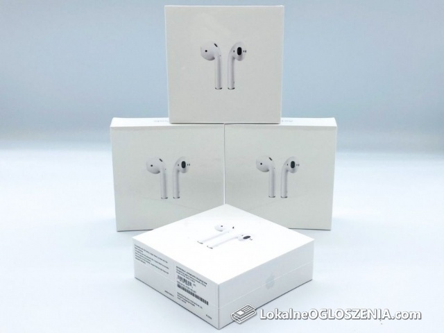 Nowe oryginalne słuchawki Apple AirPods 2 2019 MV7N2TY/A Żelazna 89