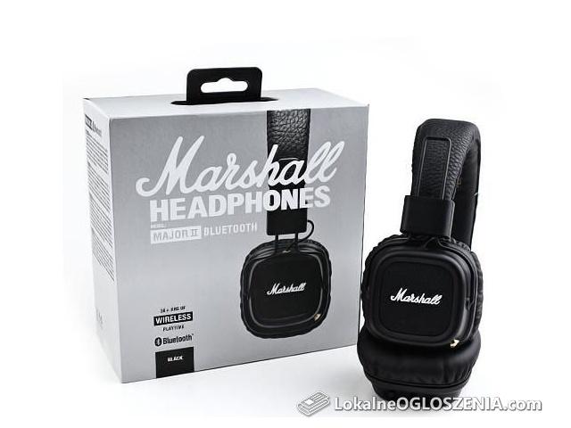 Słuchawki nauszne Marshall Major II BEZPRZEWODOWE Wireless BLUETOOTH