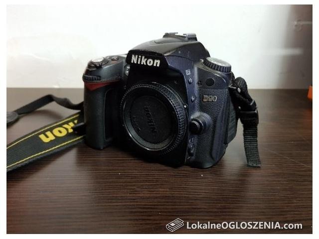 Aparat Nikon D90 BODY cyfrowy lustrzanka 48 tys. klatek