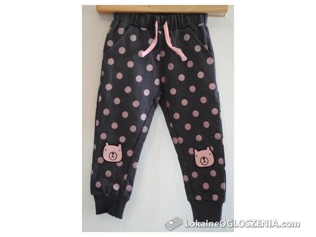 Spodnie dresowe dziewczęce (rozm. 92)