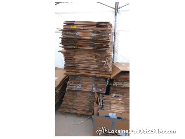 Kupimy Używane Kartony Pudełka tekturowe Opakowania, stała współpraca