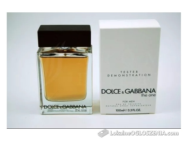 Dolce Gabbana The One Men 100ml EDT Tester