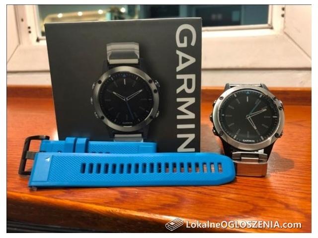 Zegarek Garmin QUATIX 5 Sapphire ROK GWARANCJI komplet