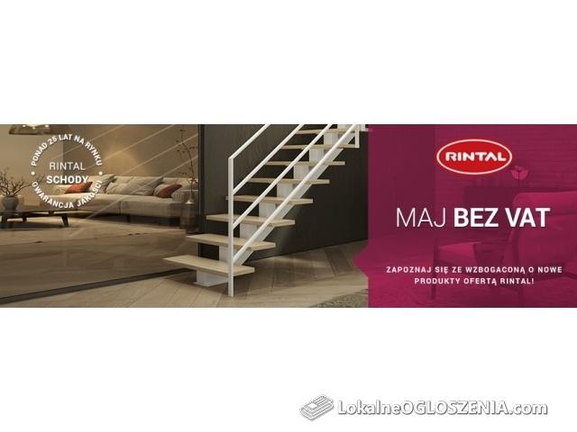 Rintal Schody - MAJ BEZ VAT
