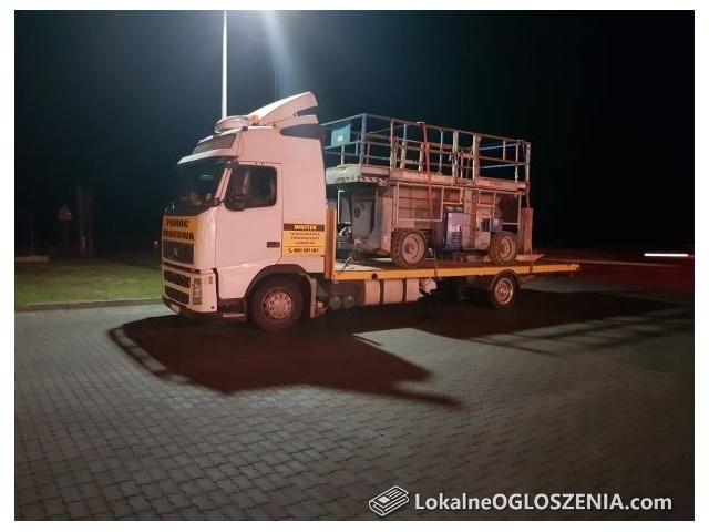 Holowanie Transport Pomoc drogowa Laweta