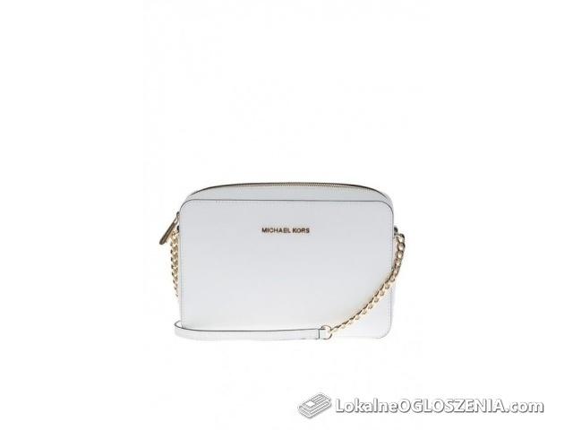 Biała torebka Michael Kors